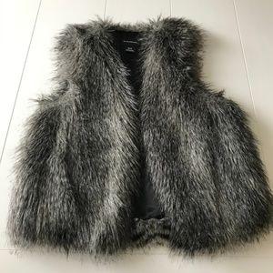 Club Monaco: Faux Fur Vest